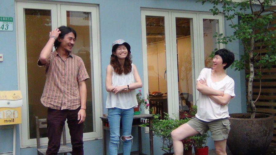 左起:導演陶磊、導演陳虹任、監製陳寶旭