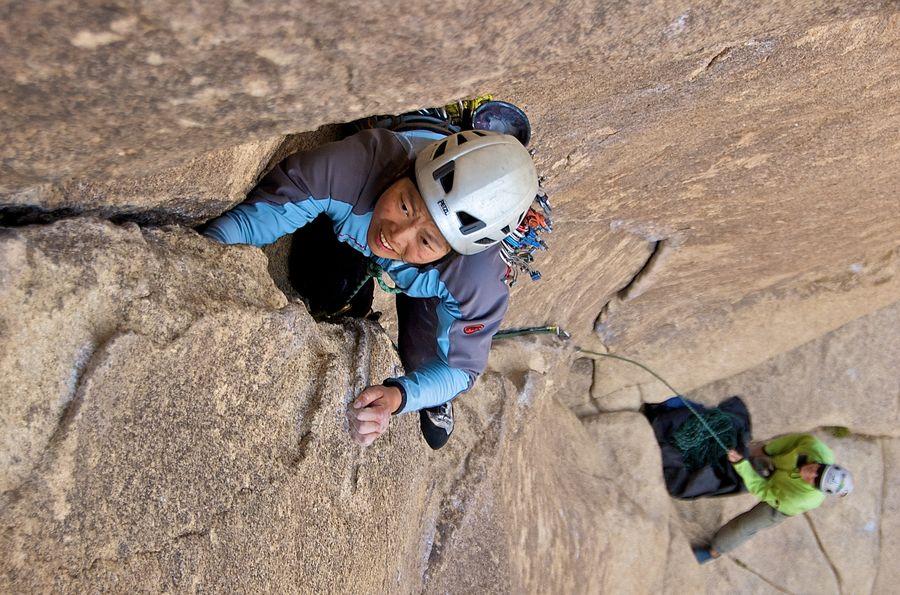 攀岩時會發現自己天生的侷限,也會找到自己的出口──專訪《傳統攀登》作者易思婷