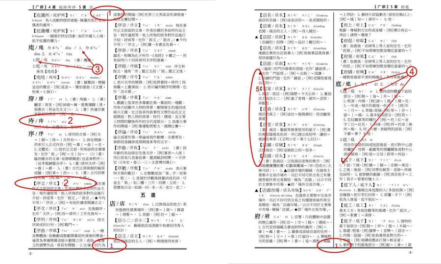 【老貓出版偵查課】辭典排版學:中華語文大辭典的錯誤示範