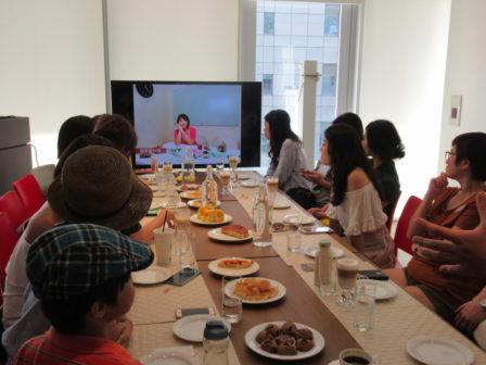 陳藝堂在採訪當天為蘋果愛料理留下的人物肖像。