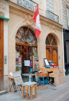 圖說:修道院書店的外觀。